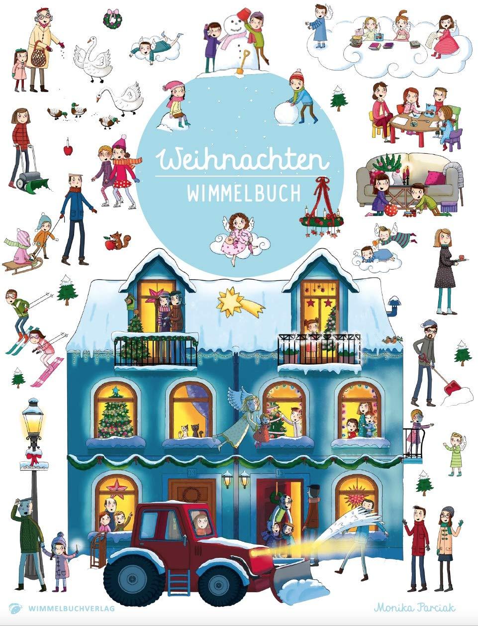 Weihnachten Wimmelbuch