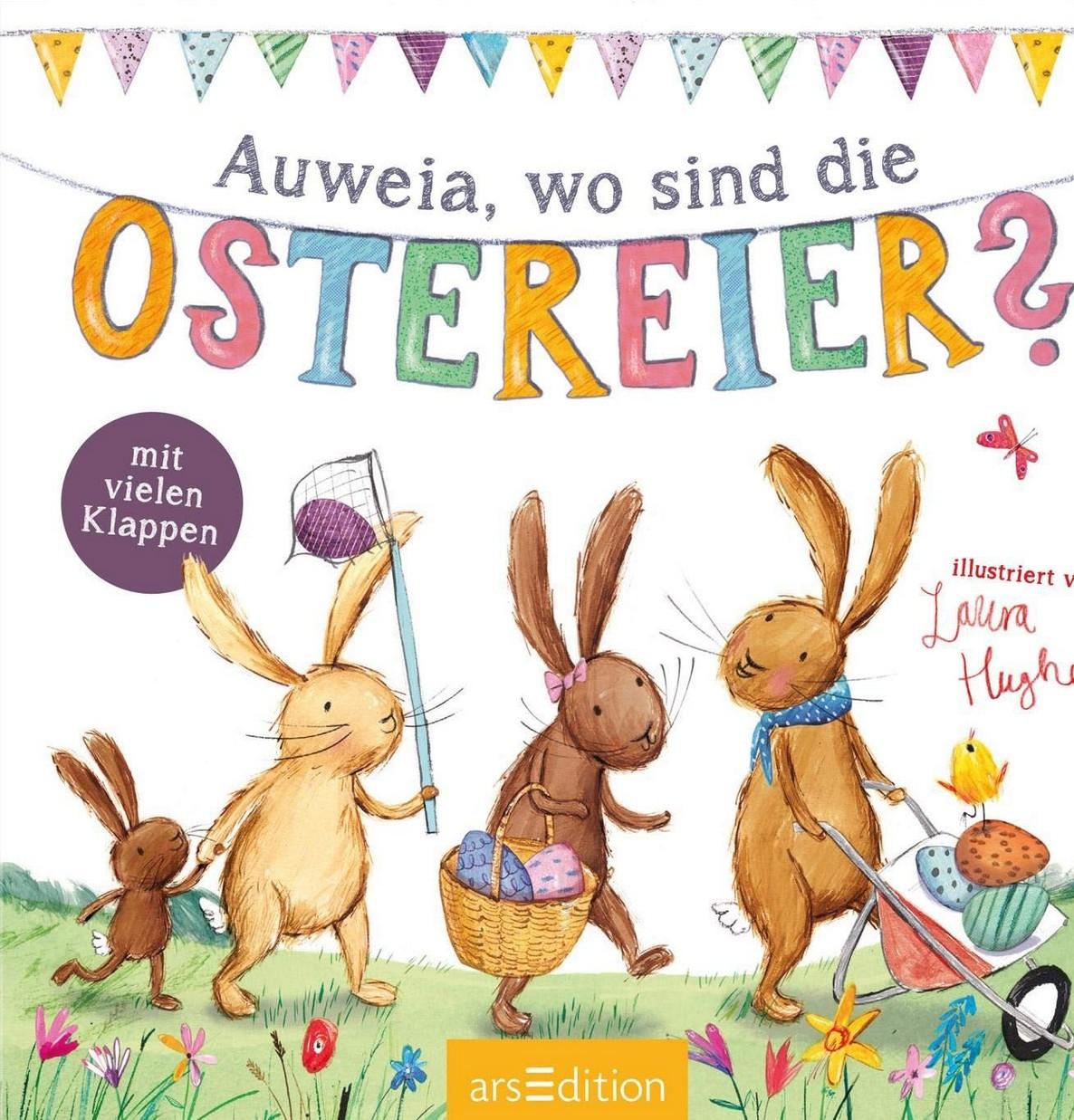 Auweia, wo sind die Ostereier?