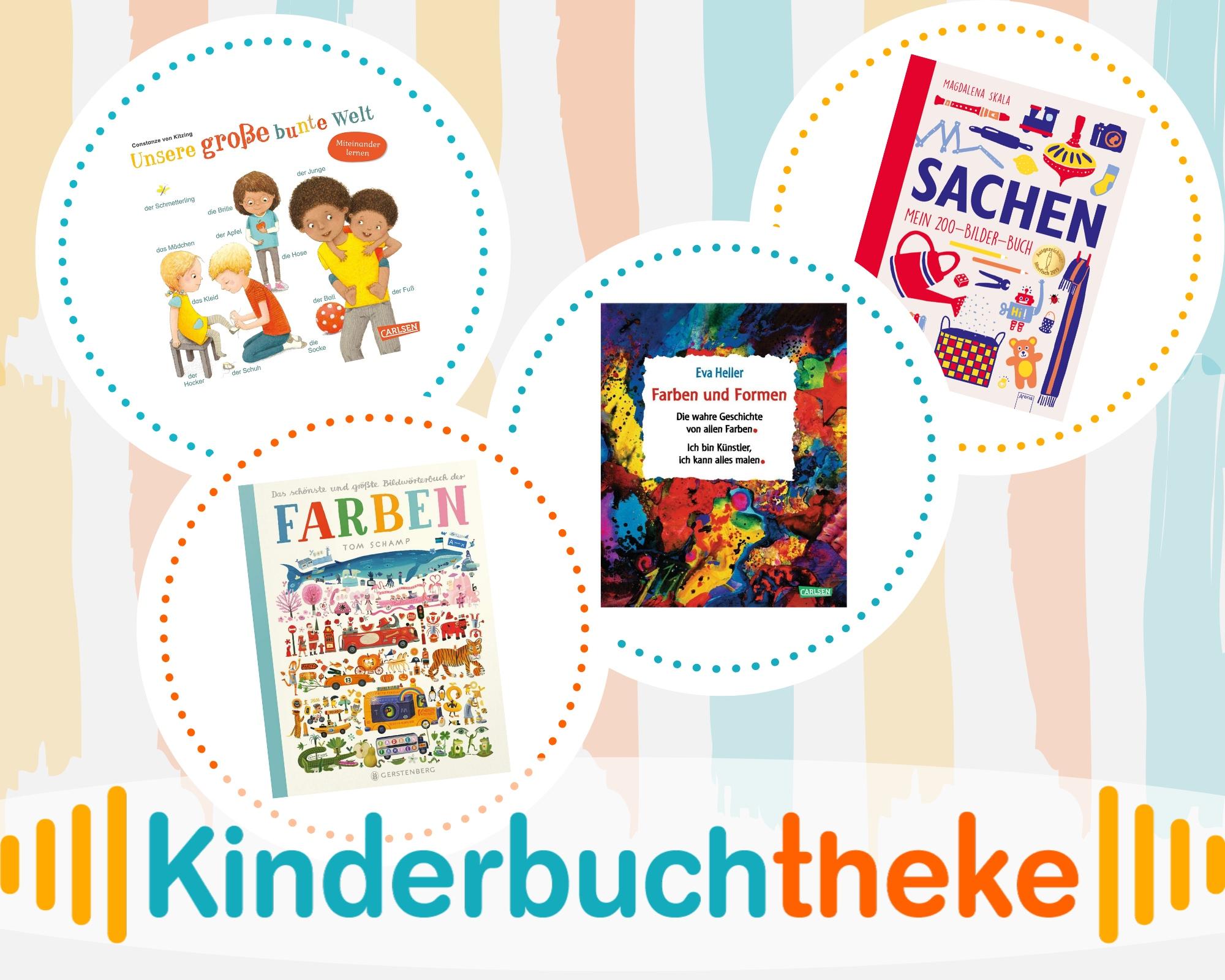Kinderbuchtheke – Kunterbunte Farbenwelt