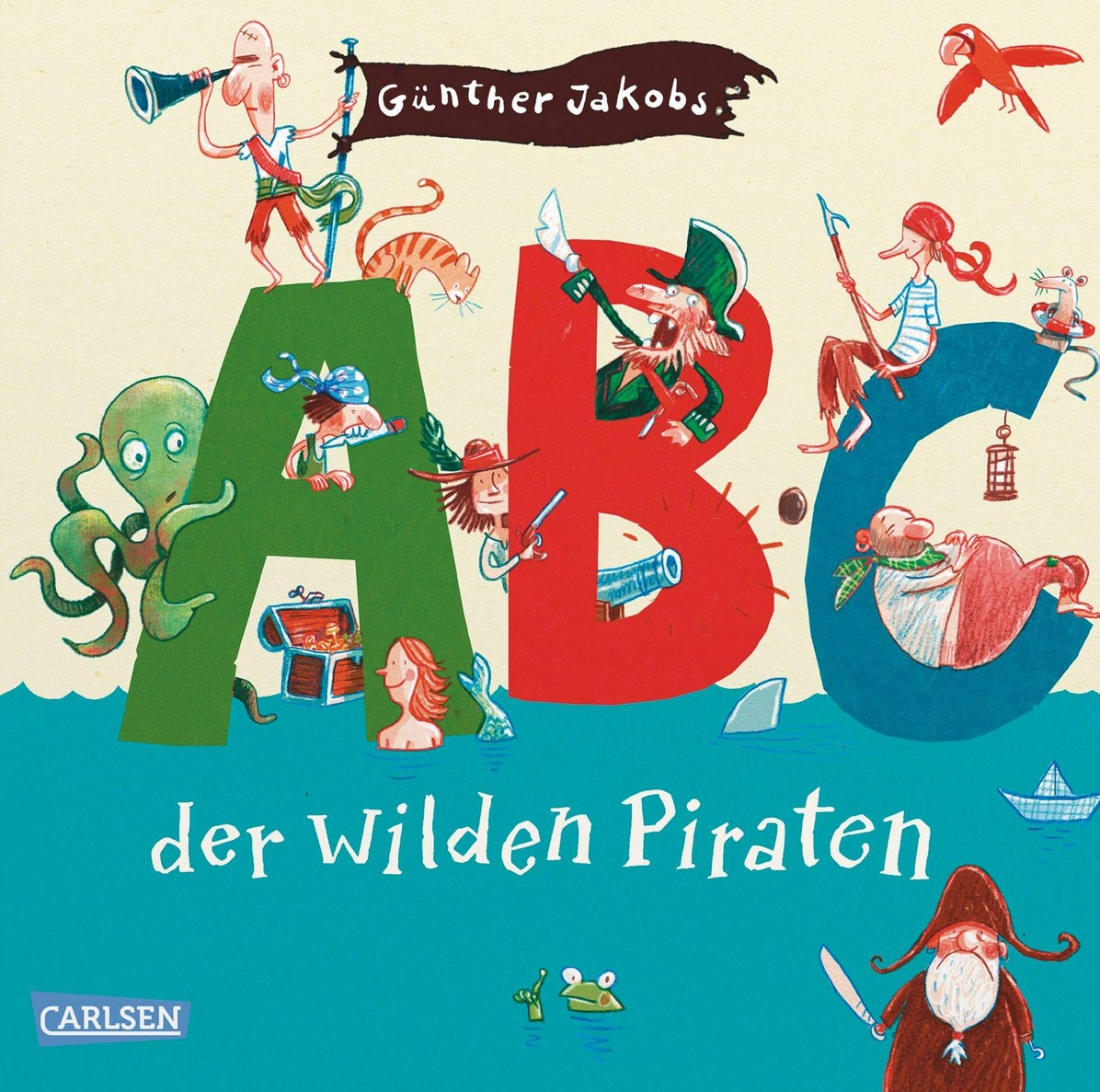 ABC der wilden Piraten