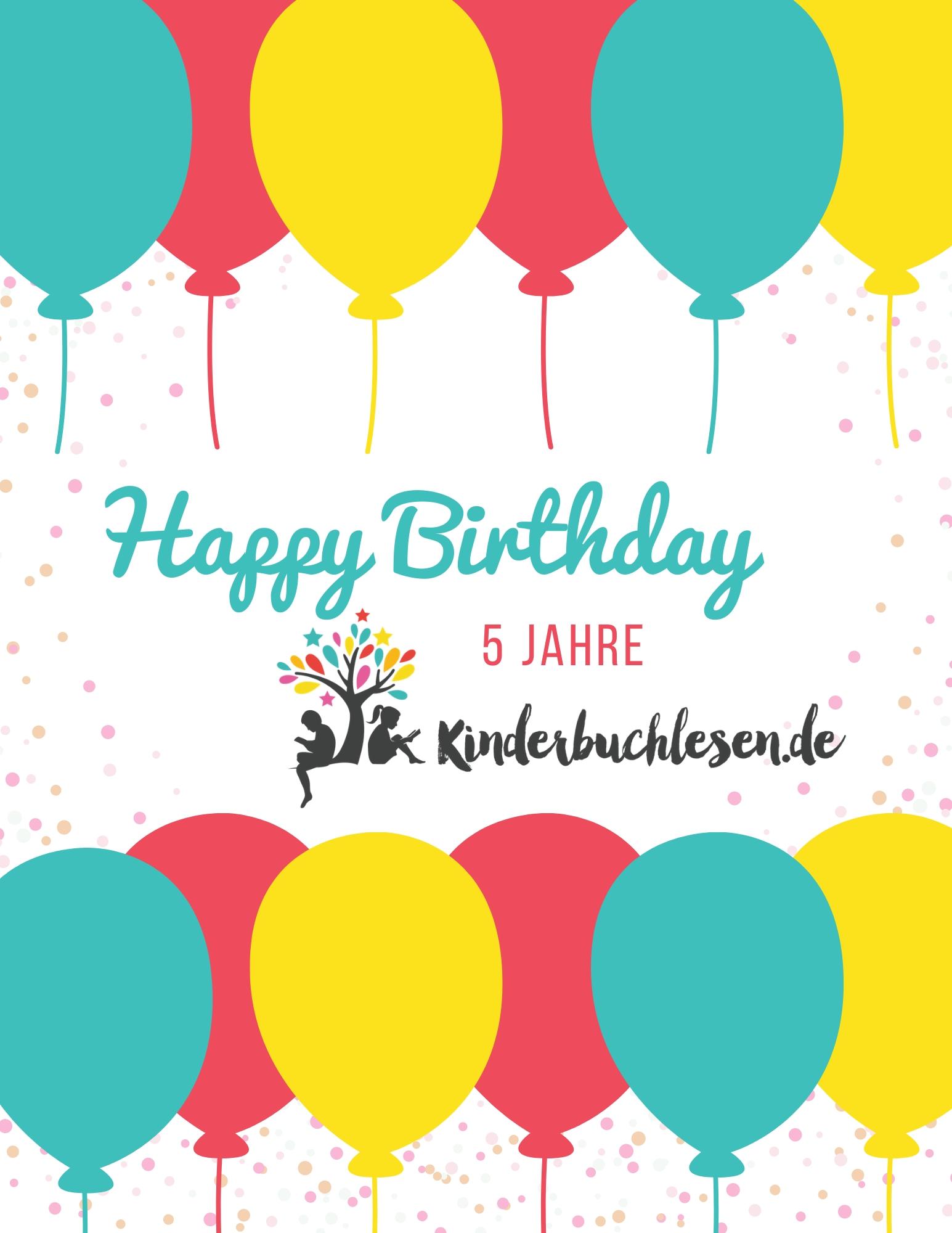 Geburtstag: 5 Jahre Kinderbuchlesen.de
