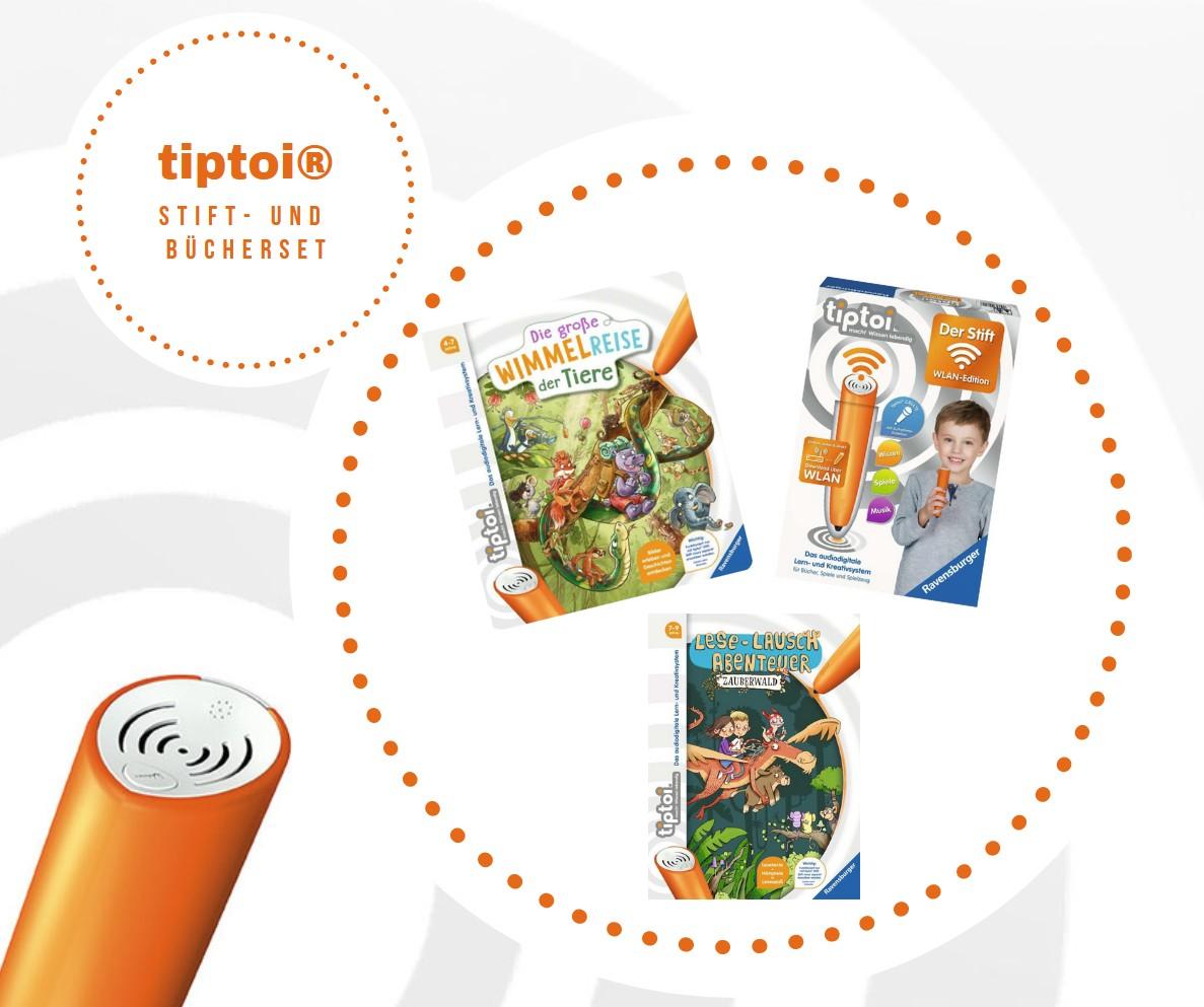 tiptoi®: Stift- und Bücherset