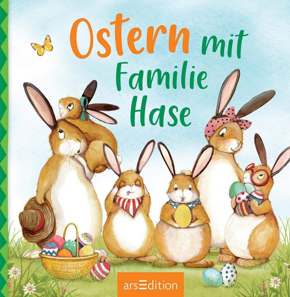 Ostern mit Familie Hase