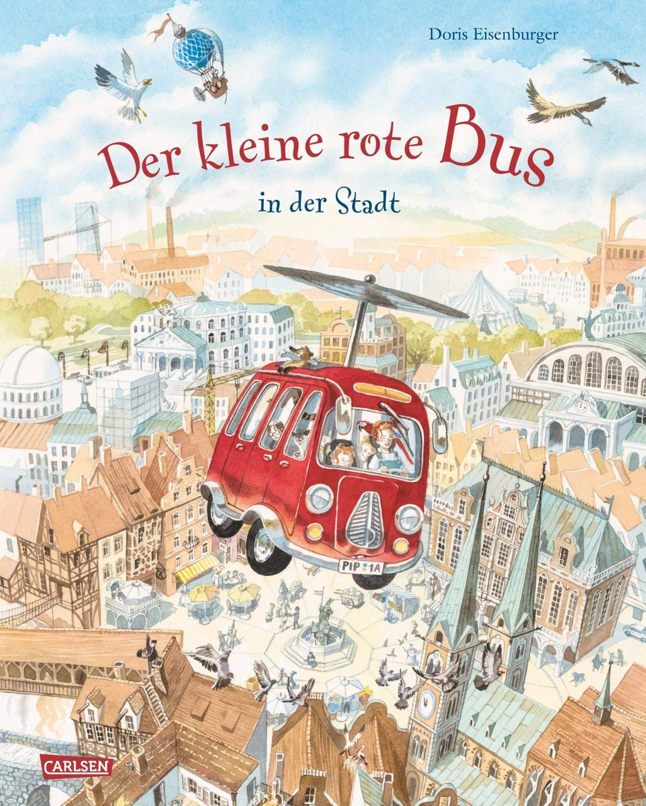 Der kleine rote Bus – In der Stadt