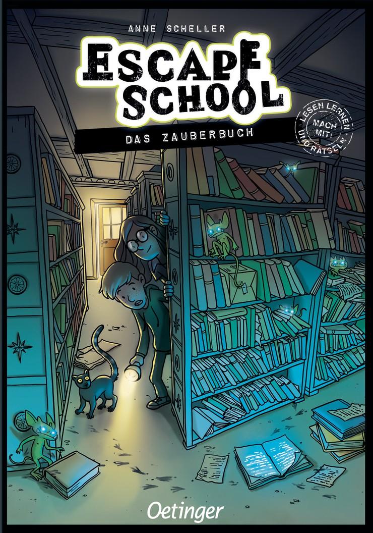 Escape School: Das Zauberbuch