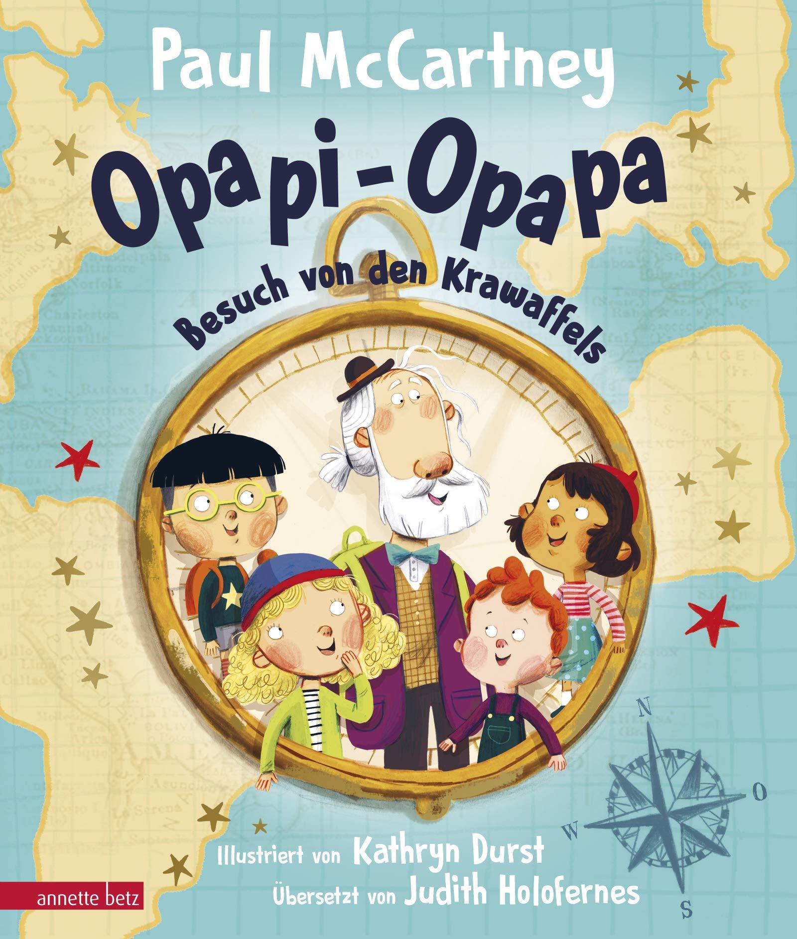 Opapi-Opapa – Besuch von den Krawaffels